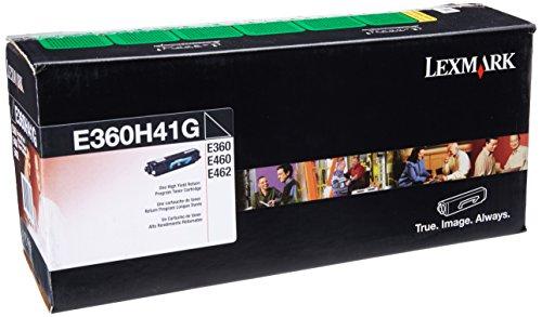 Lexmark High Yield Return Program Toner Cartridge for US Government, 9000 Yield (E360H41G)
