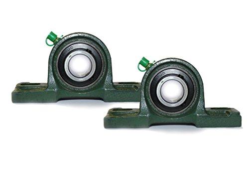2x UCP 206 Stehlager mit 30 mm Innendurchmesser (