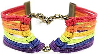 Best rainbow heart bracelet Reviews