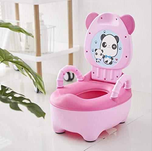 Sedile WC portatile per bambini Vasino Sedile vasino per bambini Vasino vasino Vasino multifunzione per vasino-Rosa 1
