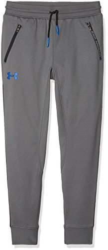 Under Armour, Pennant Tapered Pant, Pantaloni Sportivi, Bambino, Blu (Blackout Navy/Dark Orange 997), M