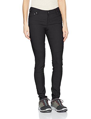 prAna Women's Standard Brenna Pant, Black, Size 6 - Regular Inseam