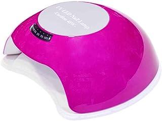 Conjunto de lámpara de uñas UV Gel rojo Herramientas de arte de uñas Lámpara de auto-detección inteligente de uñas
