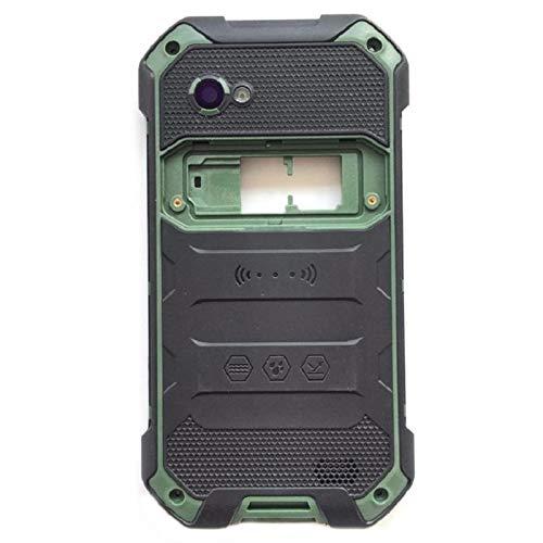 Fit Für BlackView BV6000 BV6000S Back Battery Lauter Lautsprecher + Kameraobjektiv Glasabdeckung Reparaturteil Ersatz (Color : Green)