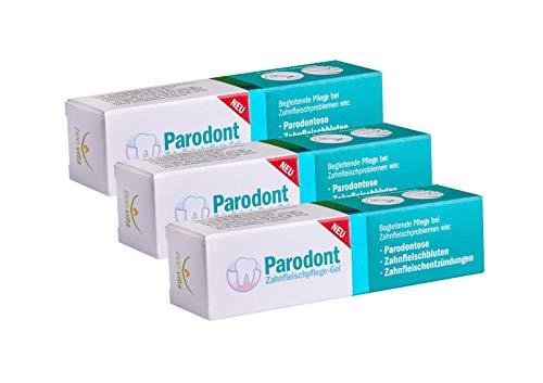 3x Beovita Parodont Gel Parodontose Zahnfleischbluten 10ml, Schwarzkümmel Öl