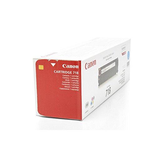 Canon Original 2661B002 / 718C, für i-SENSYS MF 8580 cdw Premium Drucker-Kartusche, Cyan, 2900 Seiten