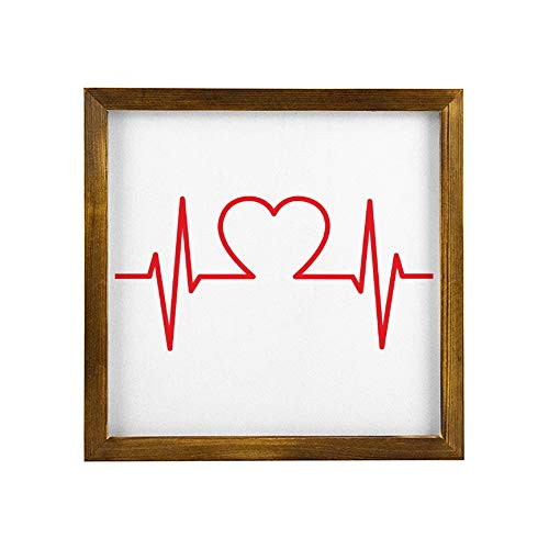 Best Gift Framed Wood Sign Blood Pressure Wall Hanger Modern Art Wall Art Home Decor Sign 3030cm l4zf70c8gewc