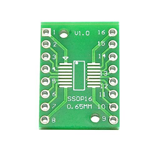 Cikuso 20 Stücke Sop16 Ssop16 Tssop16 Zu Dip16 0,65/1,27 Mm Ic Adapter Platine