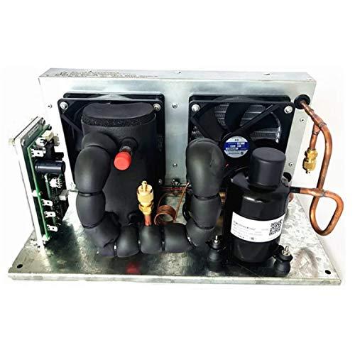 Micro aire acondicionado, Módulo enfriador de líquidos DC 48V 137-455W Módulo enfriador de sistema de enfriamiento por líquido, P-Placa Módulo enfriador de líquidos R134A Líquido refrigerante Ciclo Re