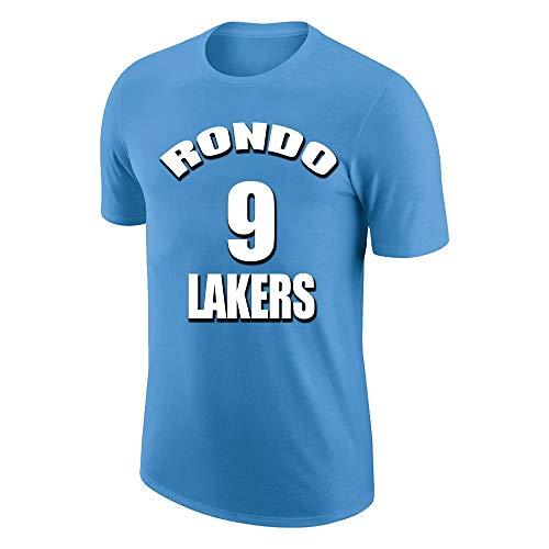 W&F Camiseta para Hombre Cool Funny Gift Rajon Rondo # 9...