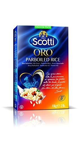 Riso Scotti Oro Classic Reis - Parboiled Reis für Risottos und Salate, Risotto Reis fertig in 12 Minuten, 1 kg