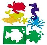 Henbea 153977 - Learning templates of sea animals