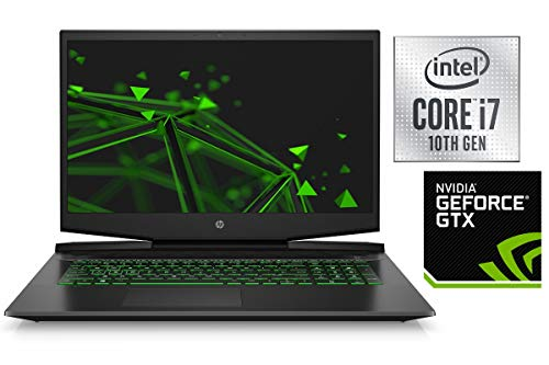 Portátil Pavilion 17-CD02 – Core i7-9750H – 16 GB DDR4-RAM – 256 GB SSD + 1000 GB HDD – Windows 10 – 44 cm (17,3 pulgadas) Full HD pantalla mate – CAD/Gaming Negro  64GB RAM - 1000GB SSD + 1000GB HDD