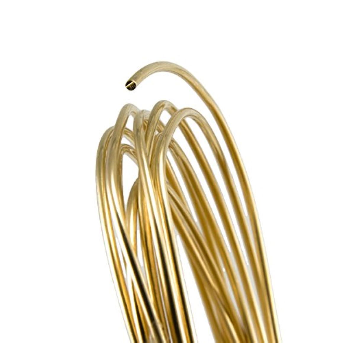 12 Gauge Round Dead Soft Yellow Brass Wire - 25FT r28504169880