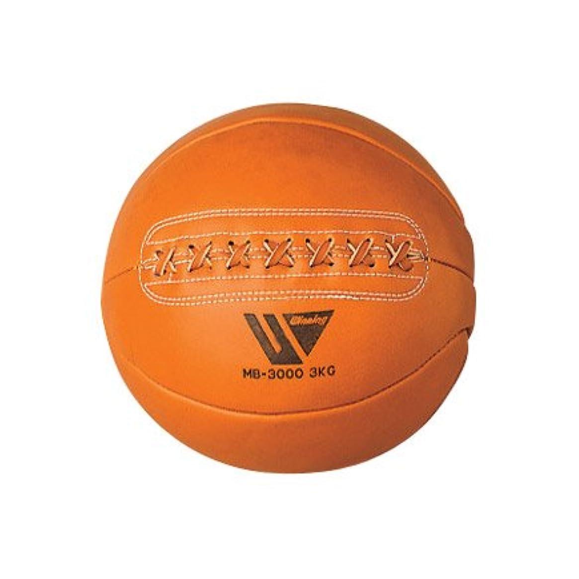 然としたひねくれた重力【Winning/ウイニング】 メディシンボール 3キログラム