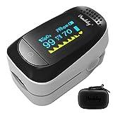 Vandelay Pulse Oximeter Digital Fingertip C101A2 - Blood Oxygen SpO2 & Pulse Monitor FDA & CE