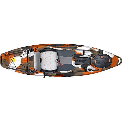 Feel Free Lure 10 Kayak - Orange Camo