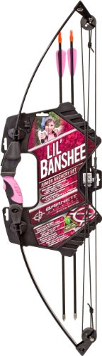 Barnett Outdoors Lil Banshee Jr. Pink Compound Archery Set