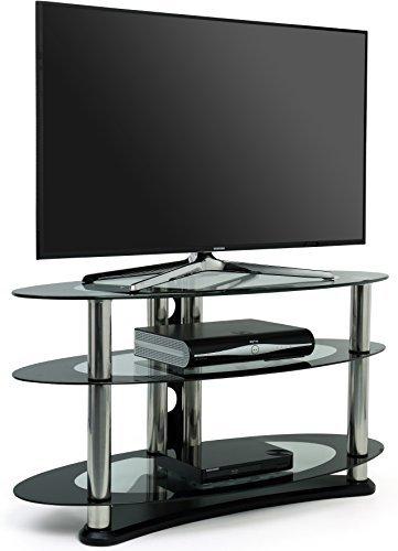 Opal Meuble TV en verre pour téléviseur jusqu'à 39 \
