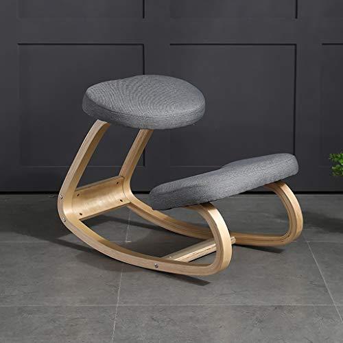 Silla ergonómica para oficina / ordenador / juego / casa / silla de rodilla con cómodo cojín para moldear el cuerpo y reducir el estrés, mejora el equilibrio y mejorar tu