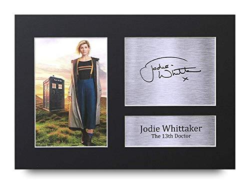 HWC Trading Jodie Whittaker A4 Ungerahmt Signiert Gedruckt Autogramme Bild Druck-Fotoanzeige Geschenk Für Dr Who Tv-Show-Fans