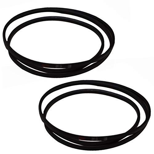2pk Mower Deck Belt Replacement for Toro MTD 106-2173 Cub Cadet 754-0197 & 954-0197