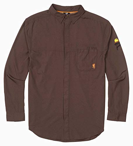 Browning Shirt,Lightweight,Pf,Choc,L