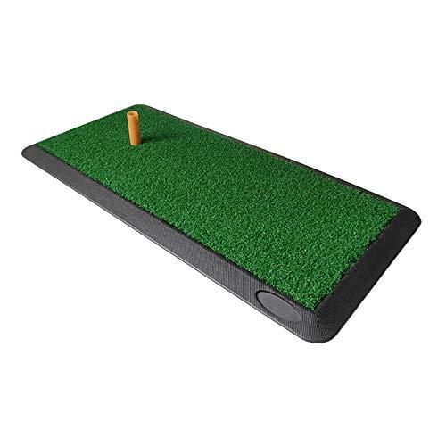 XRTJ Alfombra de Golf para Casa Analizadores de Swing con Soporte de Goma en Tpara Uso en Interiores y Exteriores