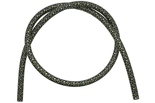 Caesar Shisha Army Silikonschlauch | 1,50 m | für Alle Wasserpfeifen | Flexibel und Robust (Pirat Gold)