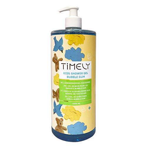 Timely Feuchtigkeitsspendendes Duschgel für Kinder mit Kaugummiduft