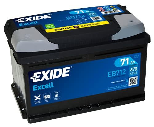 Batería de arranque Exide Eb712 de 71 A
