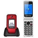 Ushining 3G Senior Flip Phones Unlocked Canada Dual Screen Basic Cell Phone Dual