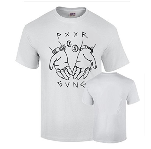 B & C Camiseta PXXR GVNG Poor Gang Trap Yung Beef Algodon 190grs (M)
