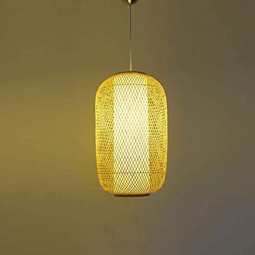 COCNI Tradicional Hecho a Mano Decoración de bambú Araña Restaurantes Habitaciones de té Pantalla Pantalla Lámpara Colgante Lámpara Japonesa Classic Lámpara Tejida