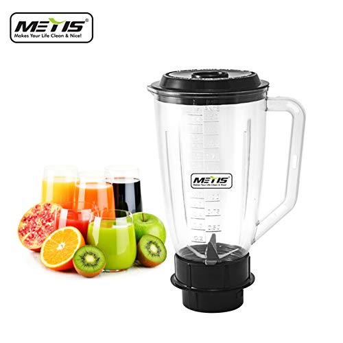 METIS Blender Mix Juicer Jar , 1500 ml (Multicolour)