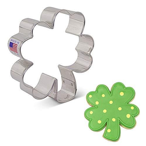4 leaf clover cookie cutter - 2
