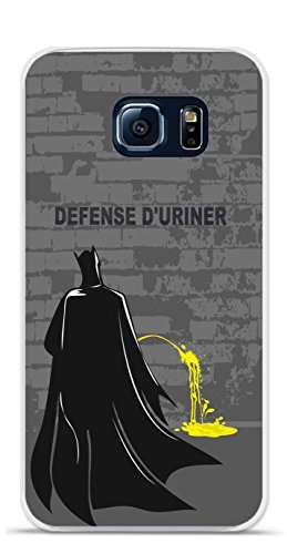 Onozo Carcasa TPU Gel Flexible Samsung Galaxy S6 diseño Batman