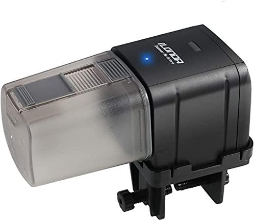 Petyoung Alimentador automático del Pescado comedero,Mando a Distancia WiFi o Temporizador de Comida para Peces, alimentador para Acuario – Alimentado por USB