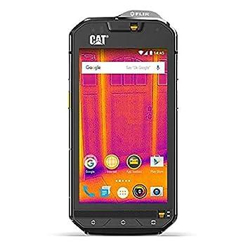 CAT PHONES S60 Rugged Waterproof Smartphone with integrated FLIR camera Black  CS60SUBUSAUN