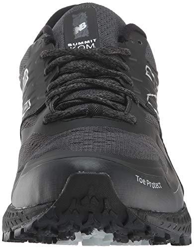 New Balance Summit KOM Gore-Tex h, Zapatillas de Running para Asfalto Hombre, Negro (Black/Magnet GT), 41.5 EU