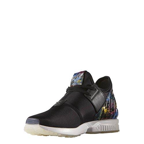 adidas - ZX Flux Plus - S79057 - Farbe: Schwarz-Weiß - Größe: 40.6