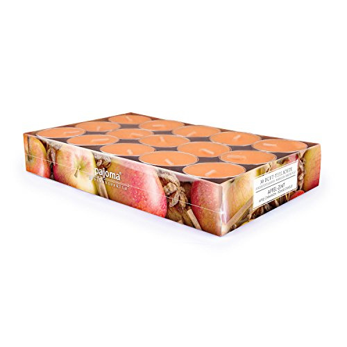 pajoma Teelichte Apfel-Zimt, 30er Set