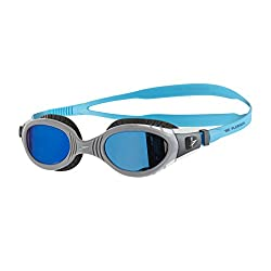 NEW Super soft flexible seals offer greater flexibility for an even softer and more cushioned fit Mirror lenses for reduced brightness and glare. Ideal for racing & outdoor swimming. Featuring Speedo Bio fuse technology for cushioned comfort every ti...