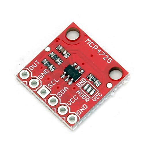 SYLOZ-URG 3Pcs Development Board MCP4725 I2C DAC-Modul for Arduino - Produkte, DASS die Arbeit mit vorgeschriebenen Arduino-Boards URG