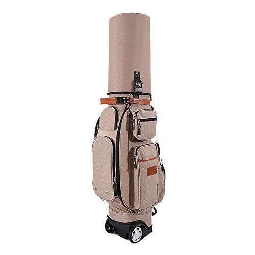 ZDAMN Golfbag Unisex-multifunctionele golf draagtas golftas volwassenen waterdichte golfaccessoires golftas met sleeper regenafdekking diefstalbeveiliging lichte golftas