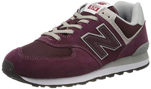 New Balance 574v2 Core', Sneaker Uomo, Sintetico, Rosso (Burgundy), 42 EU