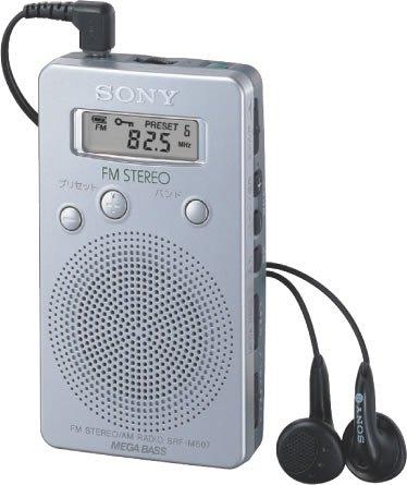 SONY FMラジオ SRF-M807