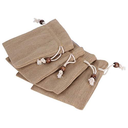 Xinde Bolsa con cordón, duraderas para joyería, Bolsa para joyería, convenientes Bodas al Aire Libre Christmas Country Beach