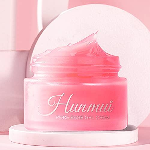 ZANLION 2021 New Summer Magical Perfecting Base Face Primer Under Foundation for Red Face, Hunmui Face Primer Pore Base Gel Cream Invisible Pores Face Primer Makeup Matte Base (1 Pc)