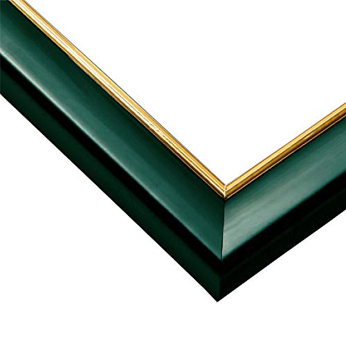 Wooden jigsaw panel Gold Line Shine Green (51 x 73.5cm) 10-T by Epoch